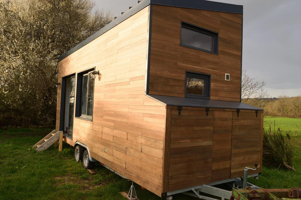 Exterior Storage - Tiny House Lumen