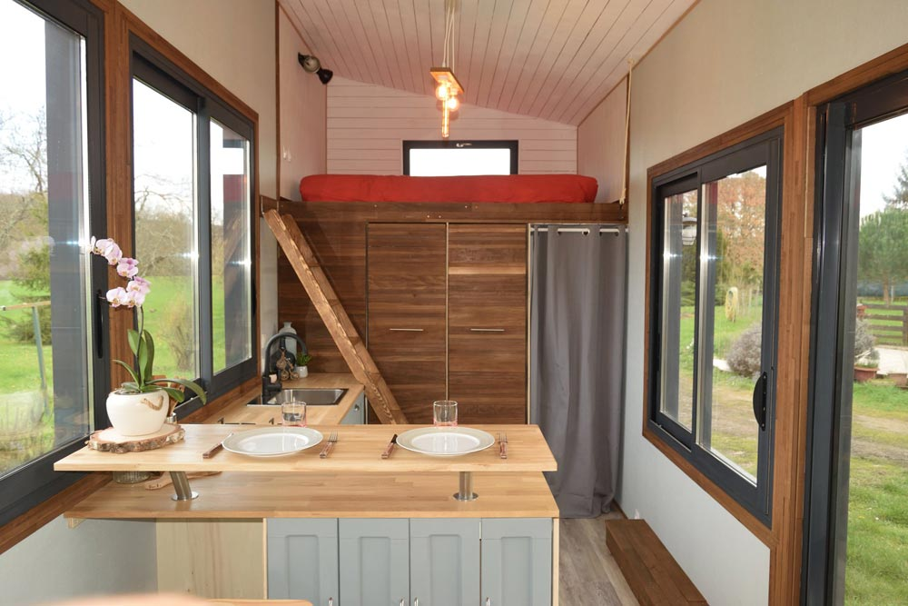 Interior View - Tiny House Lumen
