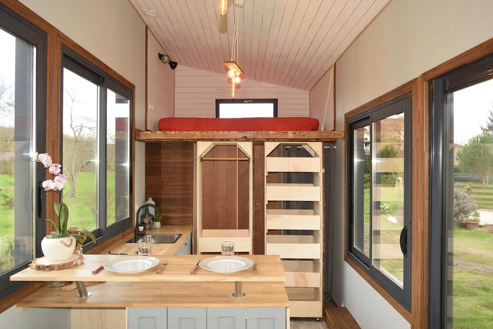 Roll-Out Storage - Tiny House Lumen