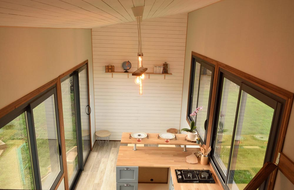 Chestnut Panels - Tiny House Lumen