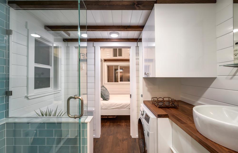 Bathroom & Bedroom - Mint Loft #7 by Mint Tiny Homes