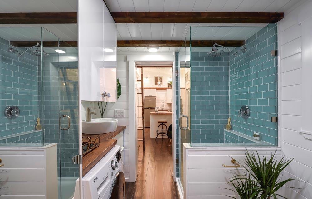 Tile Shower - Mint Loft #7 by Mint Tiny Homes