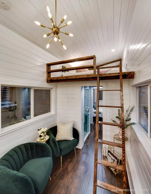 Loft Ladder - Mint Loft #7 by Mint Tiny Homes