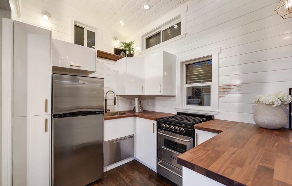 Wrap-Around Kitchen - Mint Loft #7 by Mint Tiny Homes