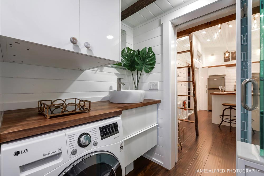 Washer/Dryer Combo - Mint Loft #7 by Mint Tiny Homes