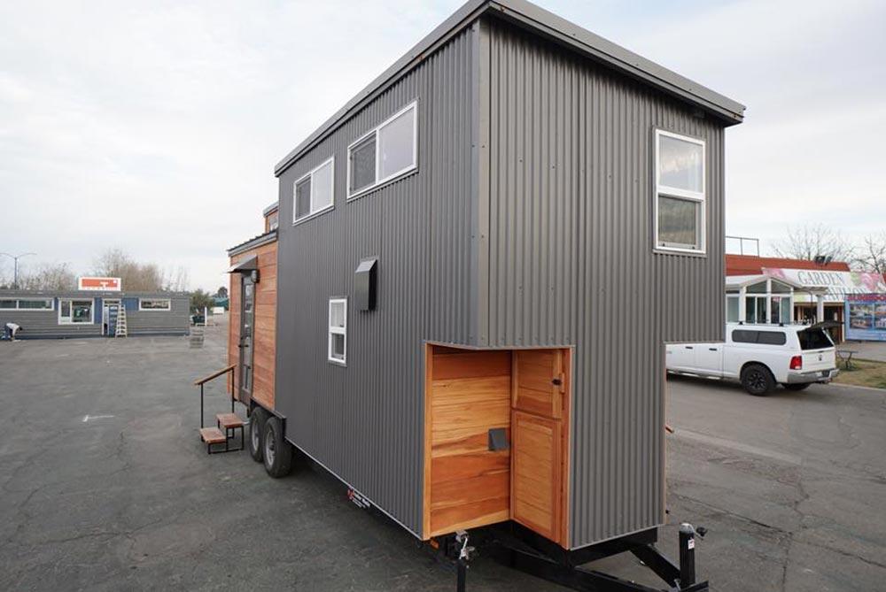 Steel Siding - Newport by California Tiny House