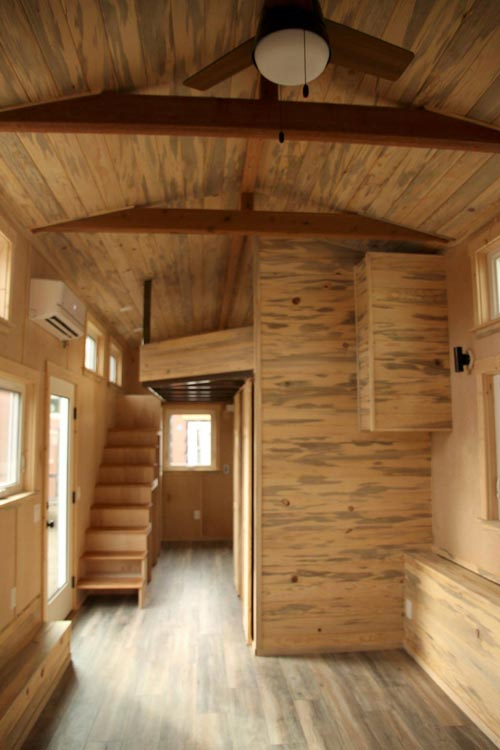 Open Beam Ceiling - Pam by SimBLISSity Tiny Homes