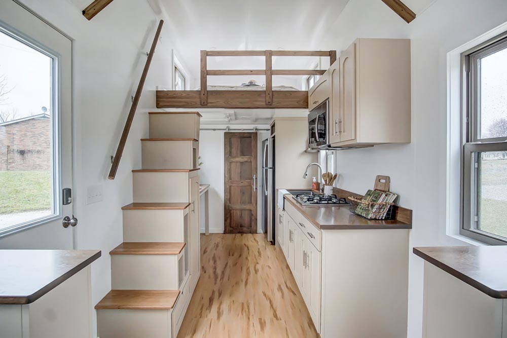 Kitchen & Stairs - Pearl by Modern Tiny Living