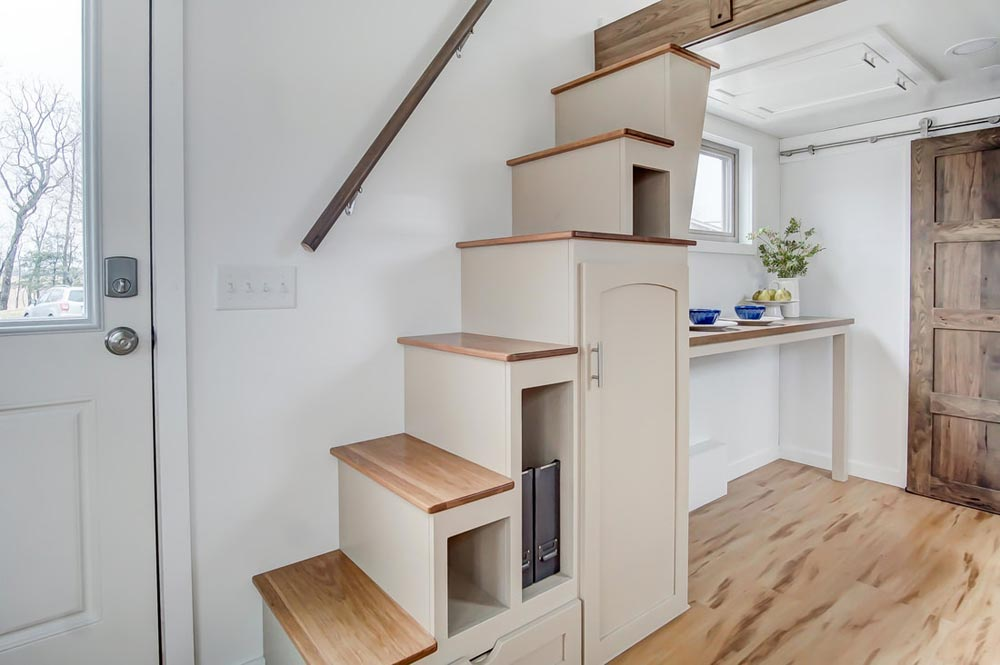 Storage Stairs - Pearl by Modern Tiny Living