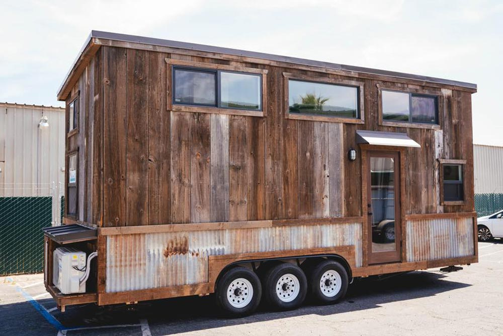 Barn Wood Exterior - Rustic Tiny by California Tiny House