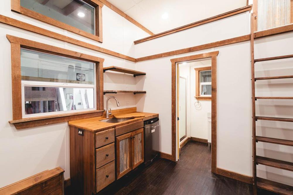 Kitchenette - Rustic Tiny by California Tiny House