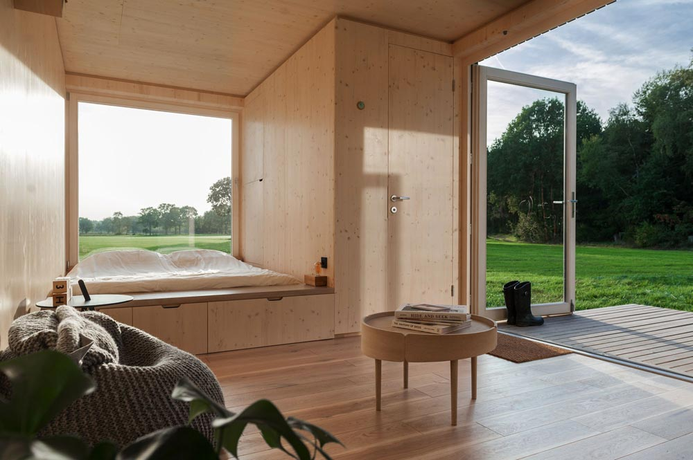 Slow Cabins in Belgium