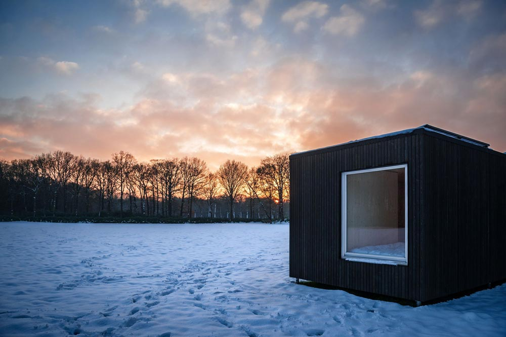 Exterior View - Slow Cabins in Belgium