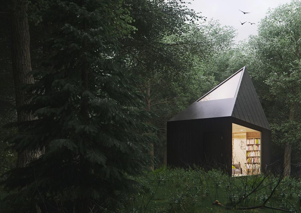 Skylight - Slow Cabins in Belgium