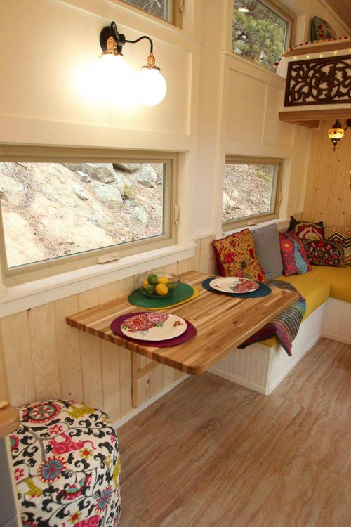 Fold Down Table - Valhalla by SimBLISSity Tiny Homes