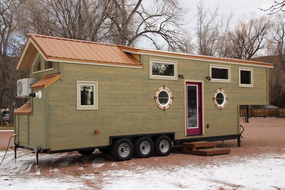 Gooseneck Tiny Home - Valhalla by SimBLISSity Tiny Homes