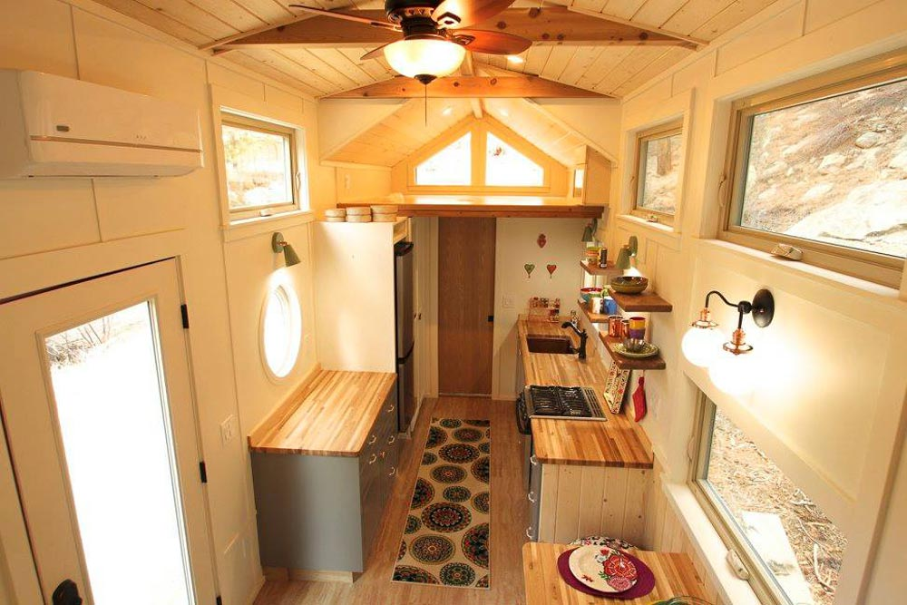 Kitchen & Loft - Valhalla by SimBLISSity Tiny Homes