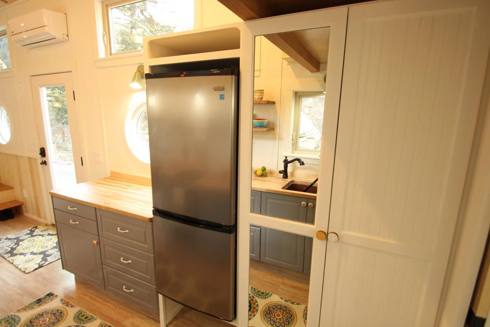 Refrigerator & Pantry - Valhalla by SimBLISSity Tiny Homes