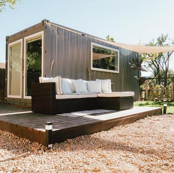 Big Living In Container Spaces: Zion By Alternative Living Spaces