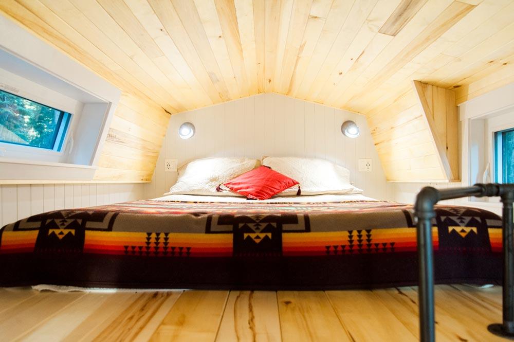 Bedroom Loft - Aspen by Borealis Tiny Homes
