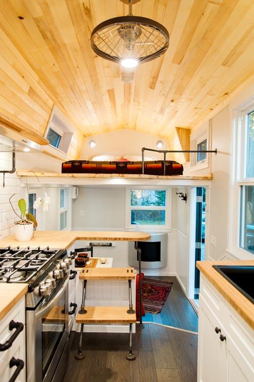 Interior View - Aspen by Borealis Tiny Homes