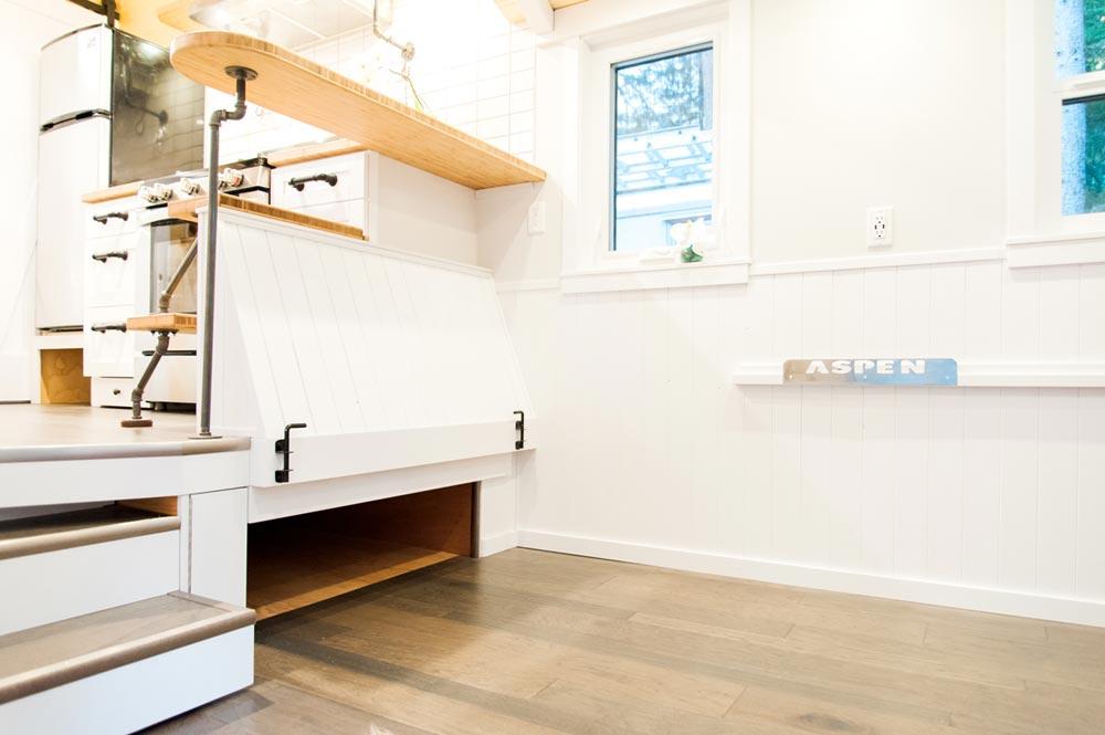 Raised Kitchen Platform - Aspen by Borealis Tiny Homes