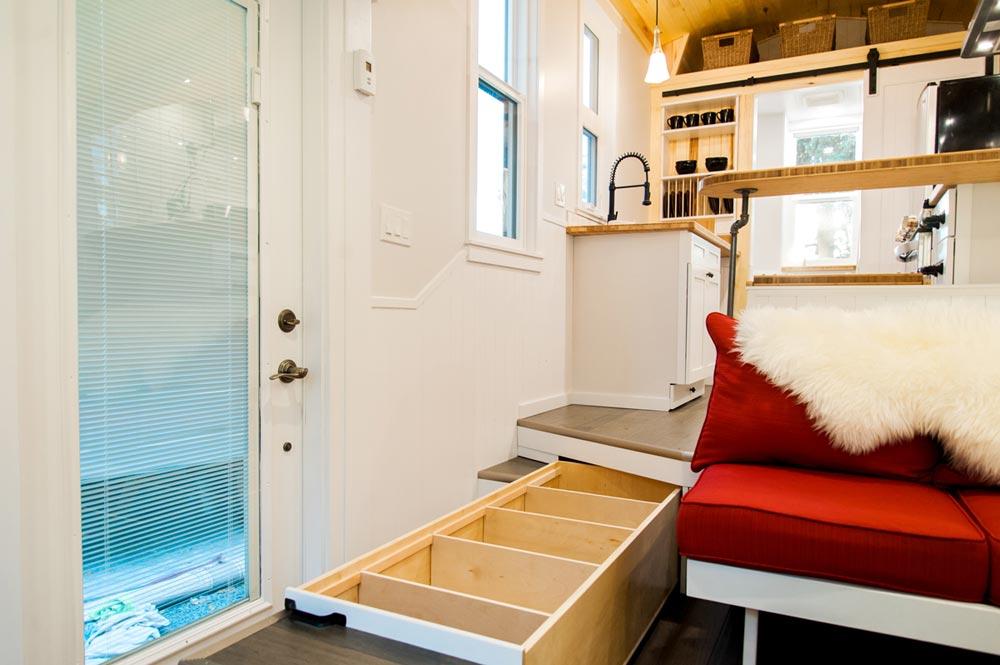 Platform Storage - Aspen by Borealis Tiny Homes