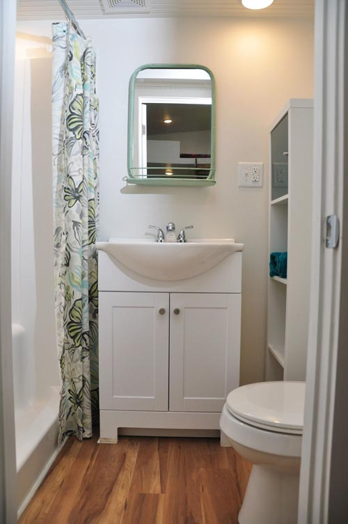 Bathroom Vanity - Baby Blue by Indigo River Tiny Homes