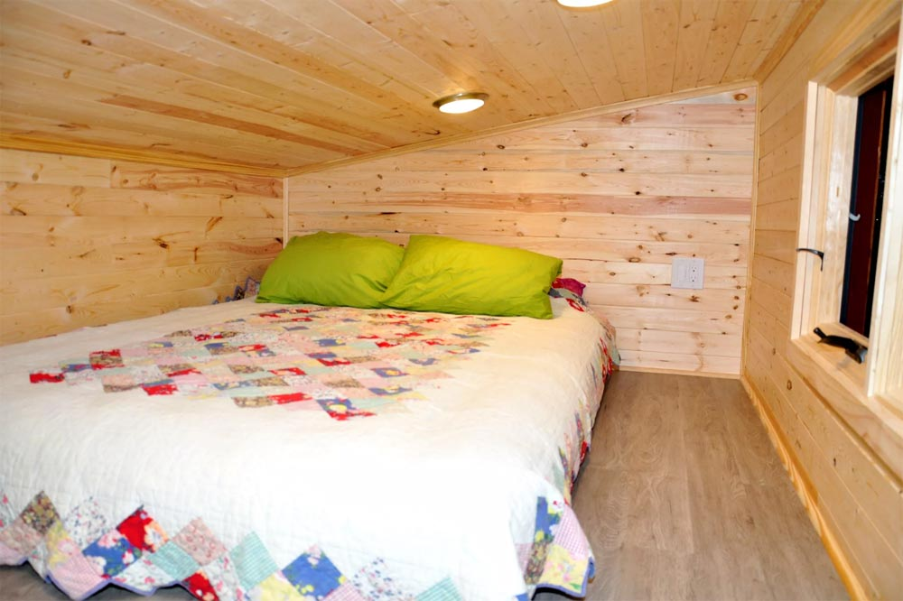 Bedroom Loft - Big Blue by Indigo River Tiny Homes