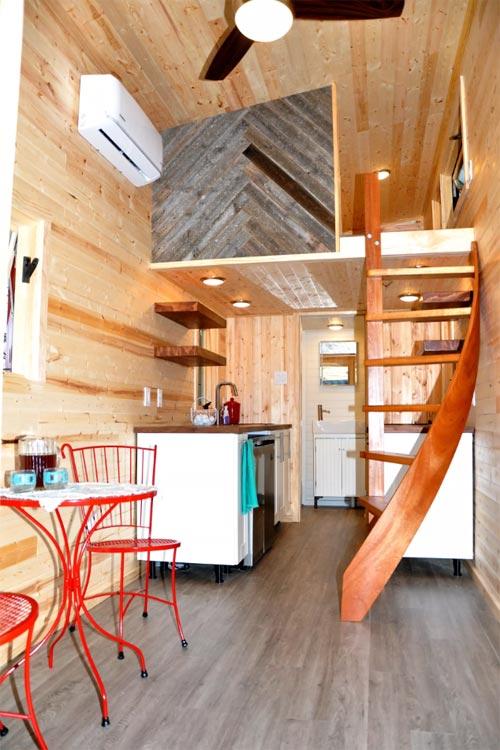 Tiny House Interior - Big Blue by Indigo River Tiny Homes