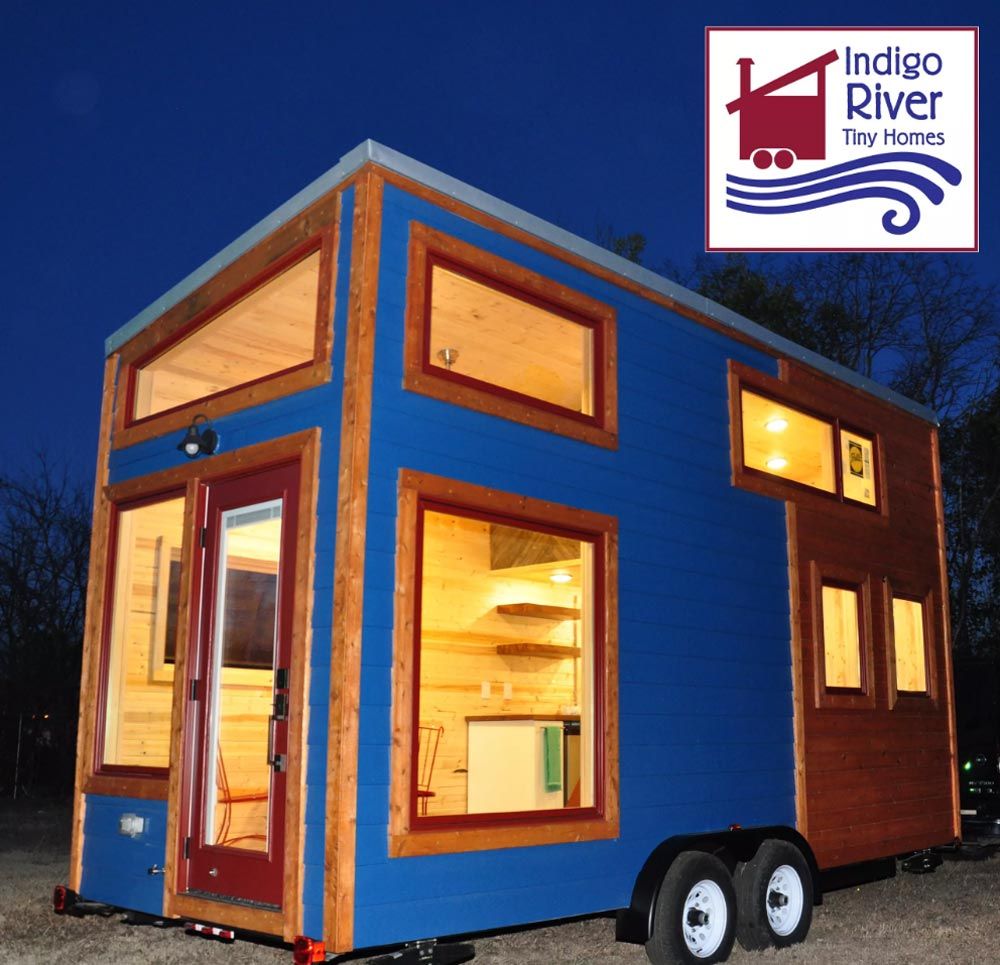 Windows - Big Blue by Indigo River Tiny Homes