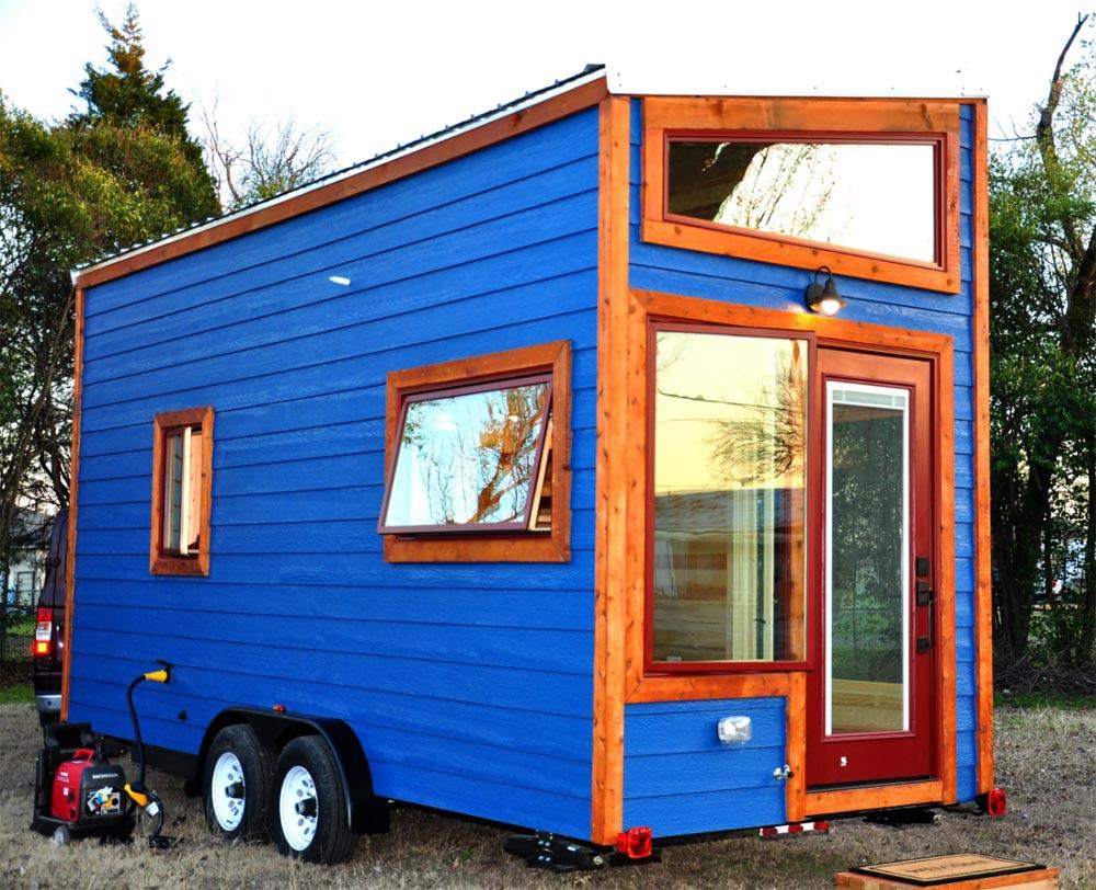Rear Exterior - Big Blue by Indigo River Tiny Homes