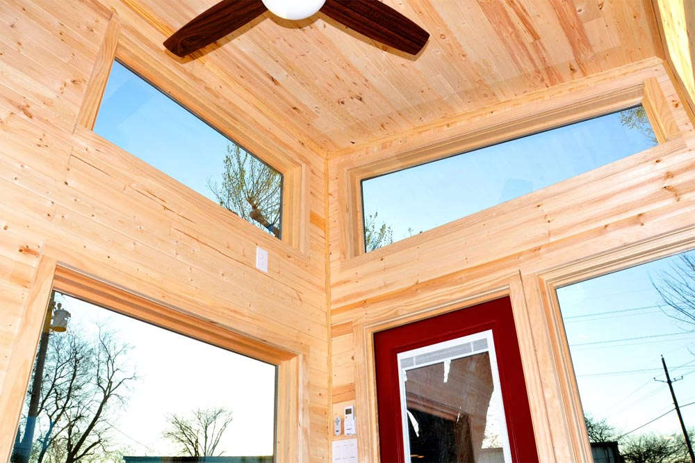 Clerestory Windows - Big Blue by Indigo River Tiny Homes