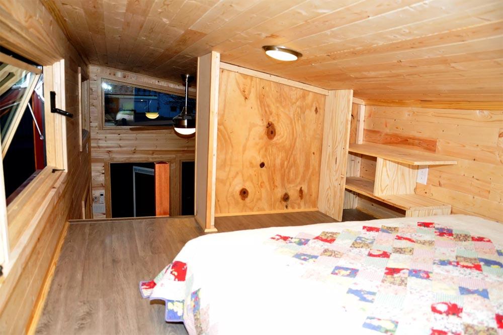 Bedroom Storage - Big Blue by Indigo River Tiny Homes