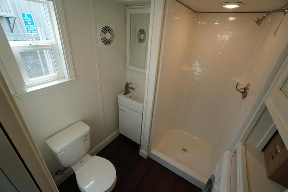 Bathroom - Cape Cod Cottage by California Tiny House