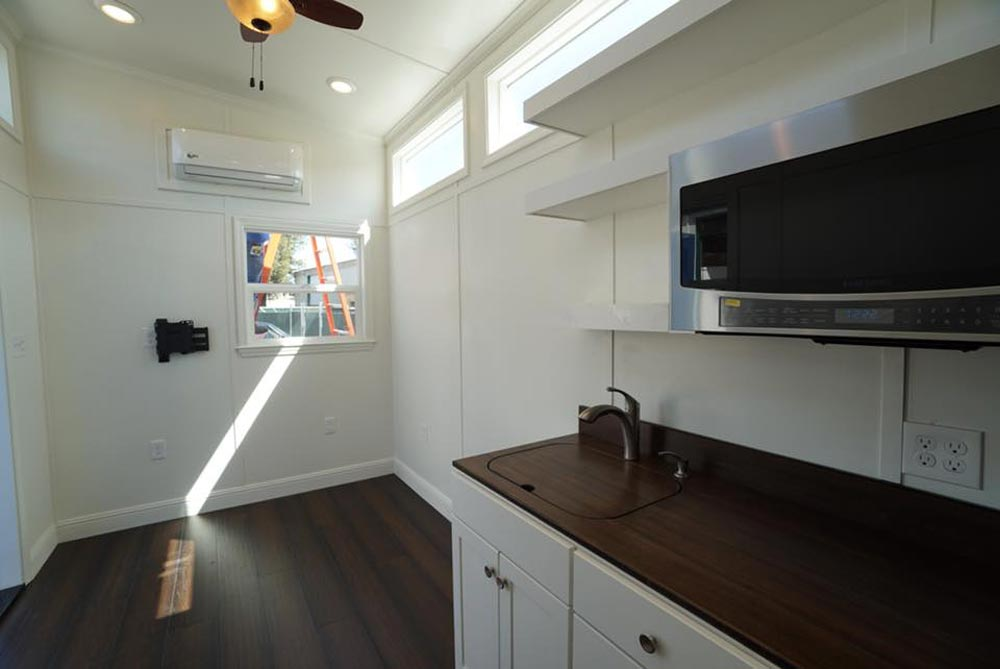 Kitchen & Living Room - Cape Cod Cottage by California Tiny House