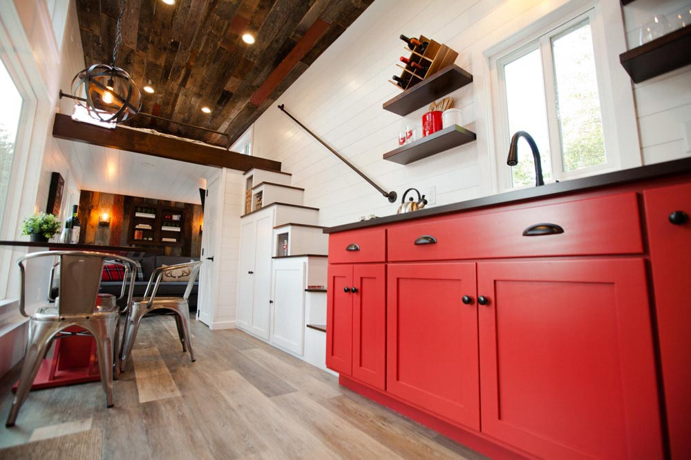 Red Kitchen Cabinets - Grand by Modern Tiny Living