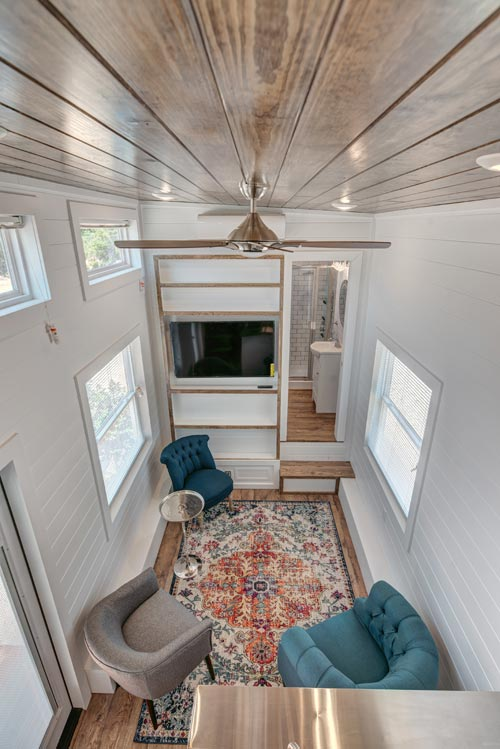 Aerial View - Journey by Alabama Tiny Homes