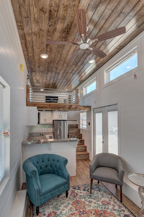 Sitting Area - Journey by Alabama Tiny Homes