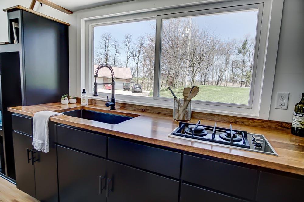 Black Kitchen Cabinets - Espresso by Modern Tiny Living