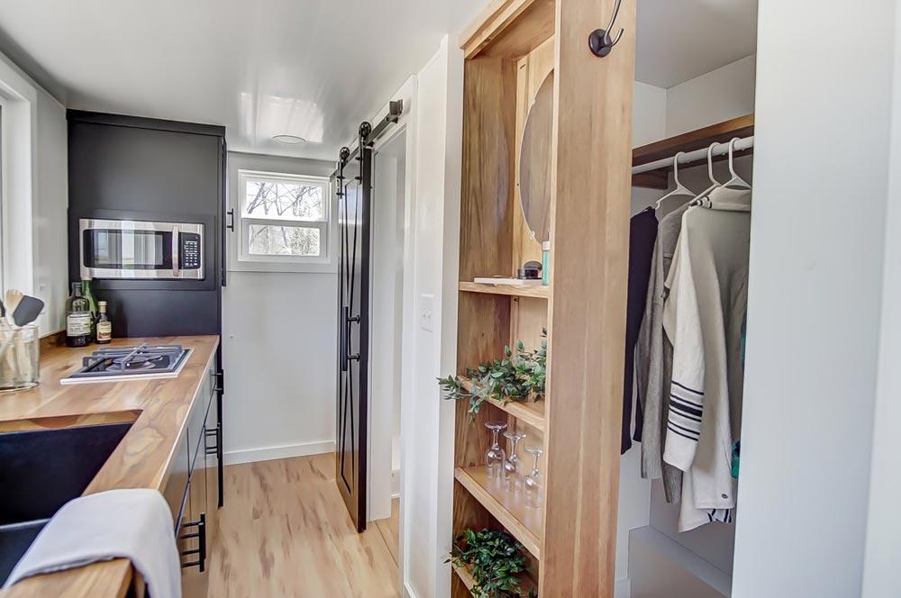 Open Closet - Espresso by Modern Tiny Living