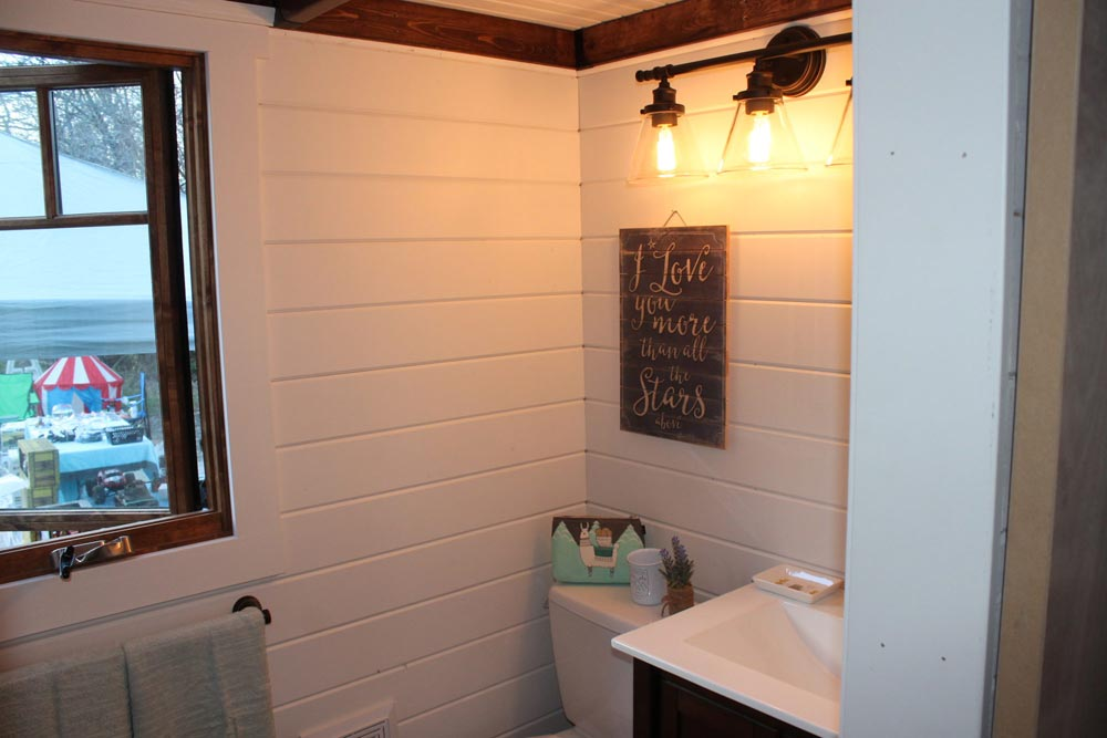 Bathroom - Monarch by Canadian Tiny Homes