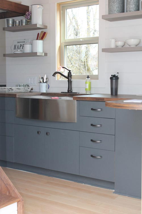 Kitchen Cabinets - Monarch by Canadian Tiny Homes