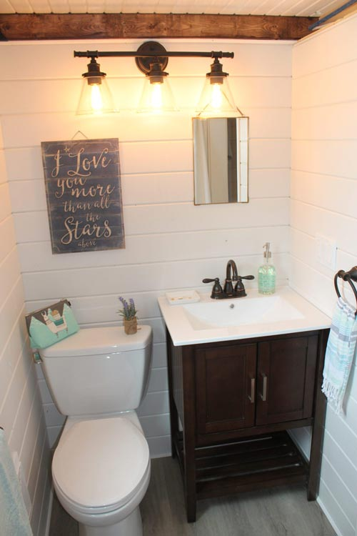 Bathroom Sink & Toilet - Monarch by Canadian Tiny Homes
