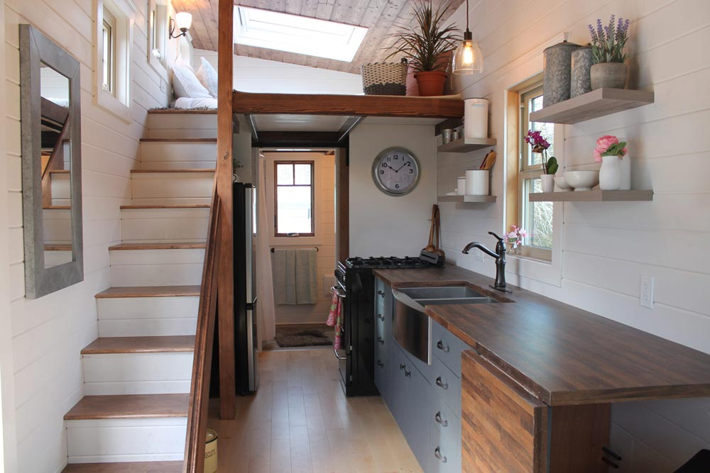 Custom Cabinets - Monarch by Canadian Tiny Homes