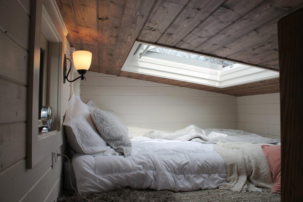 Bedroom Loft - Monarch by Canadian Tiny Homes