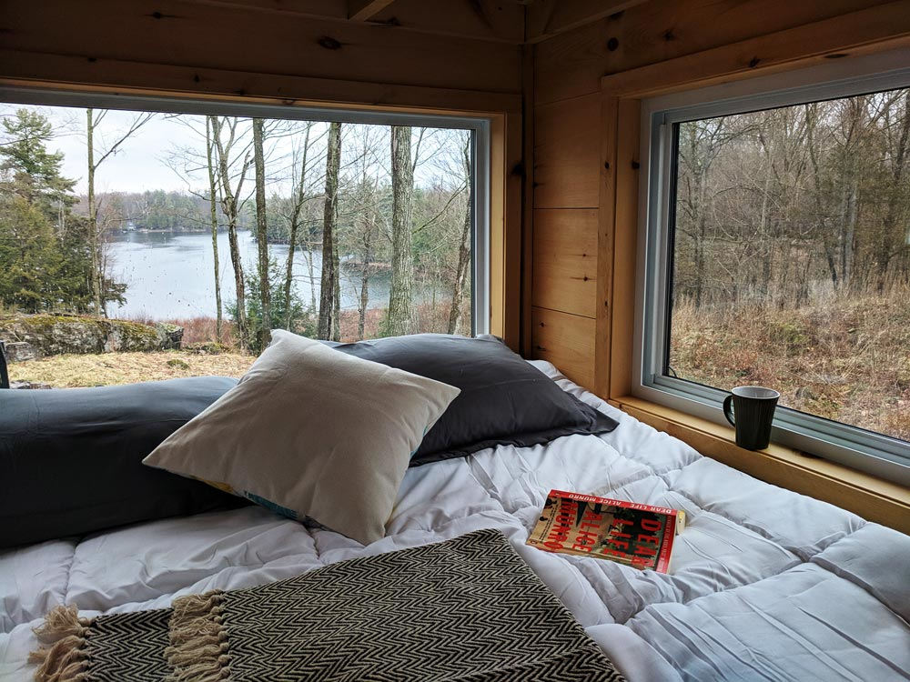 View From Bed - Penner by Cabinscape