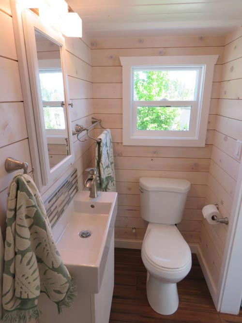 Bathroom - Roomy Retreat 24' by Sierra Tiny Houses