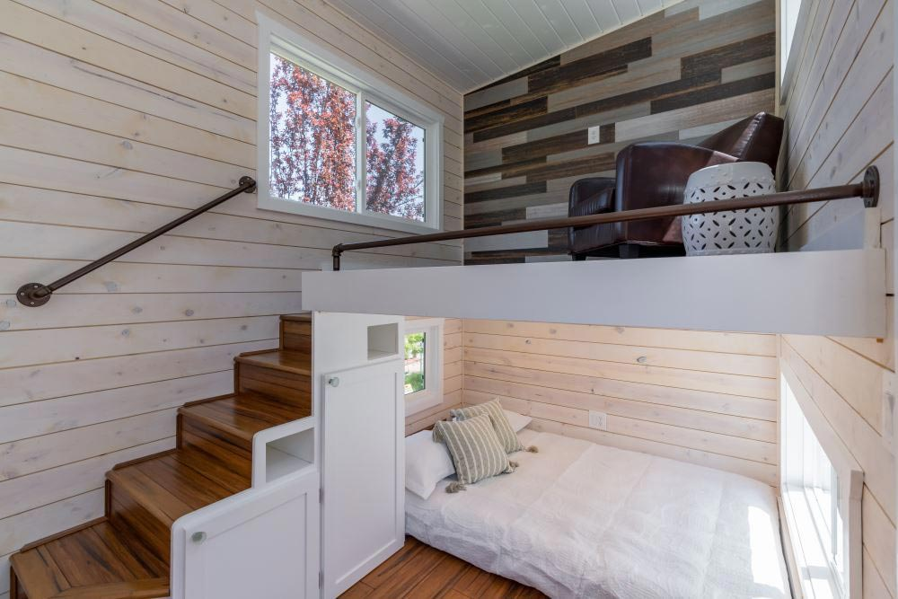 Inverted Loft - Roomy Retreat 24' by Sierra Tiny Houses