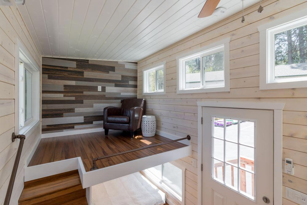 Accent Wall - Roomy Retreat 24' by Sierra Tiny Houses